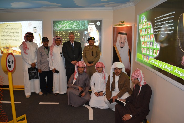 PKL Management and Saudi Officials introduce traffic safety signs